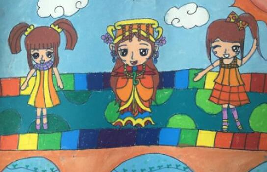 我爱妈祖全球儿童画大赛圆满落幕