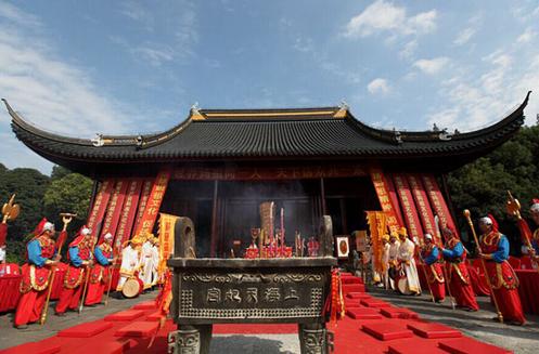上海方塔园将举办重阳节妈祖祭祀表演活动