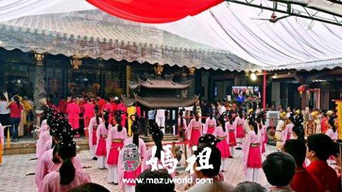 湄洲妈祖祭祀大典轰动